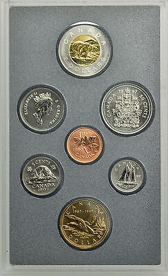 Canada 1997 Specimen Set of 7 Nice Coins in Holder w/ Papers [3252.04]