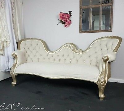 Vintage chaise lounge (delivery available)