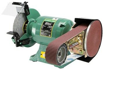 "New - Abbott & Ashby 8"" Industrial Bench Grinder With Multitool Attachment"