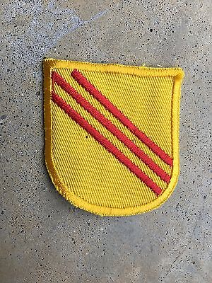 US Army Early Vietnam Special Forces Beret Flash