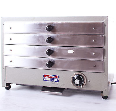 COMMERCIAL PIE WARMER / OVEN 4 Drawers - Woodson For Cafe or Take Away