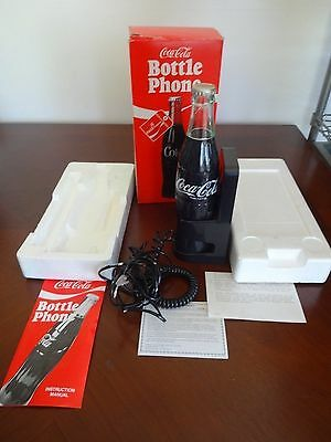 Coca Cola Bottle Phone Odel 5000 With Box