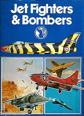 Hardcover Book - Jet Fighters & Bombers - Copyright 1976 (First Edition)