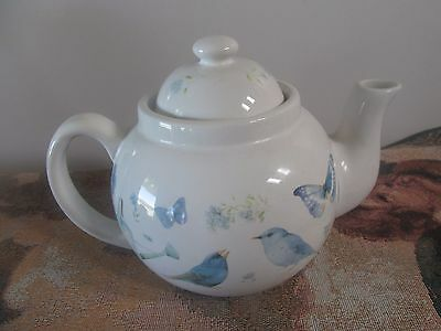 Marjolein Bastin Teapot (Rooster, Birds, and Butterflies)