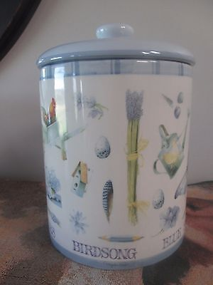 Marjolein Bastin Nature's Sketchbook Cookie Jar