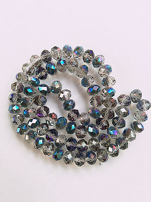 Crystal Gemstone Loose Beads 8x6mm 70Pcs HL-061 New