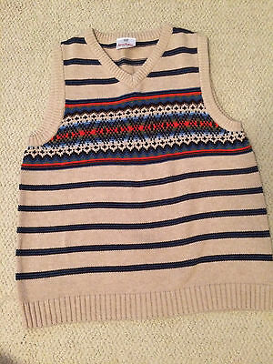 Hanna Andersson Sweater Vest Size 140 Boys