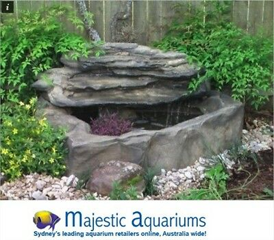 "Universal Rocks Small Patio Pond Kit ""Petite Pools""."
