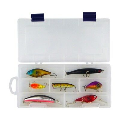 Blue Seas Compact 7 Lure Pack includes a 16 compartment tackle box