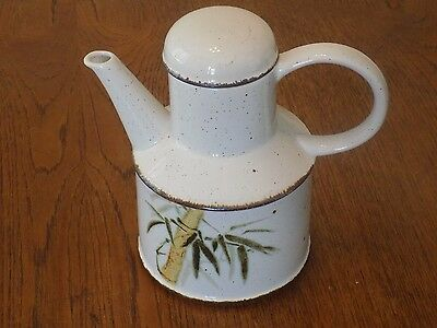 "Midwinter England Stonehenge Bamboo 8"" Vintage Coffee Pot"