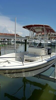 19 Foot Center Console Boat (No Reserve)