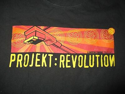 2002 PROJEKT REVOLUTION Concert Tour (XL) T-Shirt LINKIN PARK CYPRESS HILL ADEMA