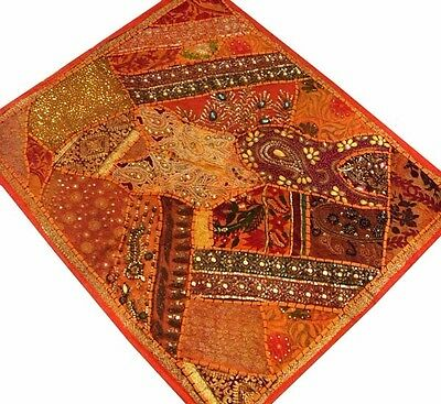 """35"""" Huge Crazy Vintage Wall Décor Tapestry Hanging Antique Sari Textile Throw"""