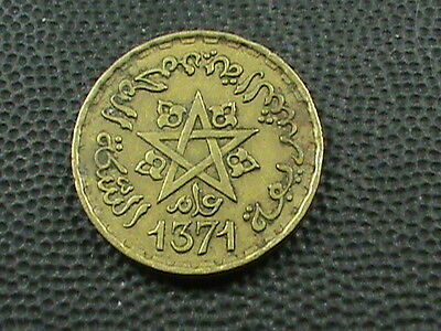MOROCCO  -  FRENCH     10  Francs    1952    (  1371  )