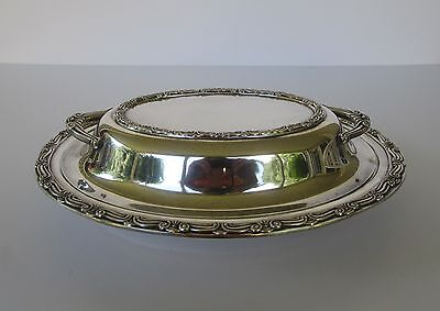 Lovely Vintage Antique Gorham Silverplate Silver Covered Serving Dish