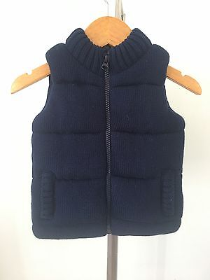 baby boys clothing Seed padded vest - Size M
