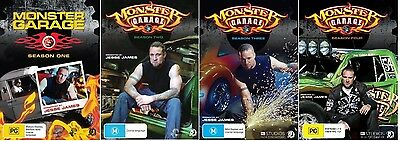 Monster Garage Series 1,2,3,4 (DVD Set) - Region 4
