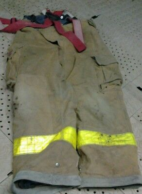 Cairn Firefighters Turnout Pants And Suspenders Size Large