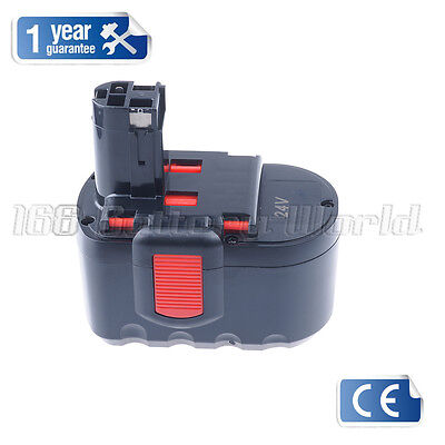 24V Battery For Bosch PSB 24VE-2 Cordless Hammer Drill,2607335537,2607335538