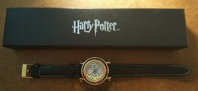 NIB Limited Edition Harry Potter Time Turner Collectible Watch Wristwatch