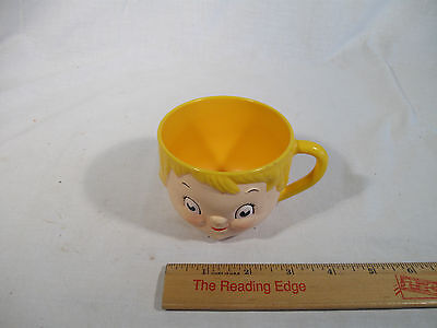 VINTAGE Campbell Soup Girl Collectible Kids Children Plastic Cup Mug