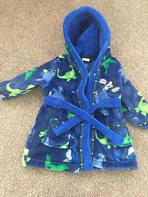 Mickey Mouse Dressing Gown-Boys-3/6 Months