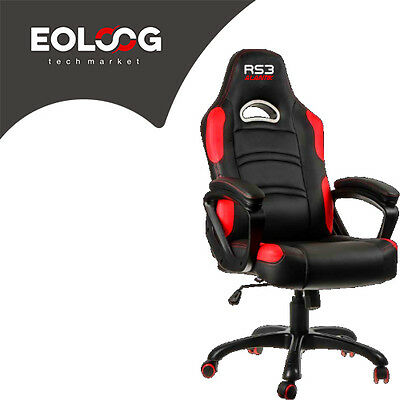 Poltrona Gaming Alantik Rs3 Rossa/nera Ko-Rs3Red