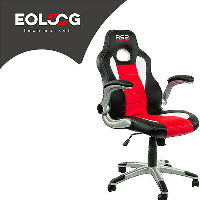 Poltrona Gaming Alantik Rs2 Rossa/nera Ko-Rs2Red