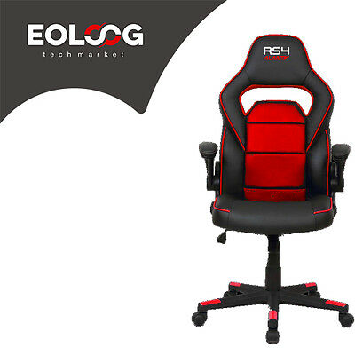 Poltrona Gaming Alantik Rs4 Rossa/nera Ko-Rs4Red