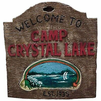 Friday The 13th Camp Crystal Lake Sign