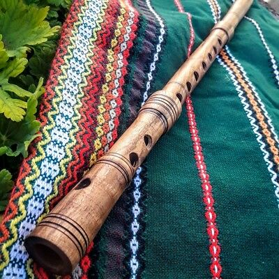 Kaval - directly from master in Bulgaria - Original Handmade WALNUT Wood Flute
