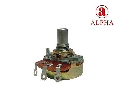 Marshall/Alpha Solid Shaft Potentiometer, 8mm Bushing, 24mm Wide
