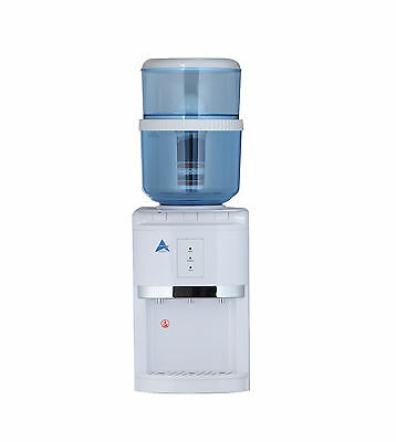 New Aimex White Benchtop Awesome Water Filter Cooler Purifier Dispenser Hot Cold