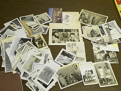 Large lot of Vintage Early 1950s Photos from a man is in US Air Force