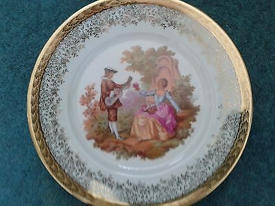 Limoges plate and lidded pin dish