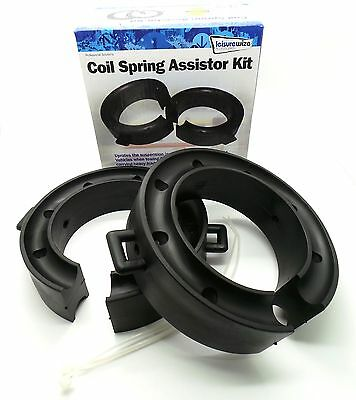 Streetwize Car Suspension Coil Spring Rubber Towing Spacers Assisters - 52-65mm