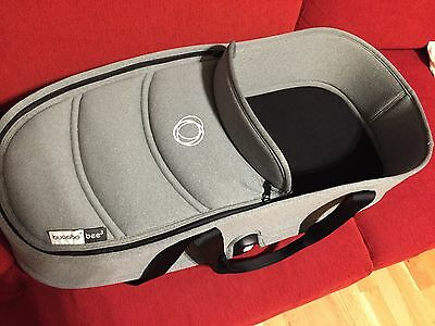bugaboo bee carrycot set, fabric, base and the adapter