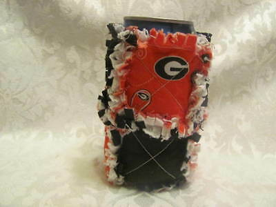 New Georgia Bulldogs Inspired 12oz Beer/ Pop Can Cover/ Cozy/ Can Holder / Cozie