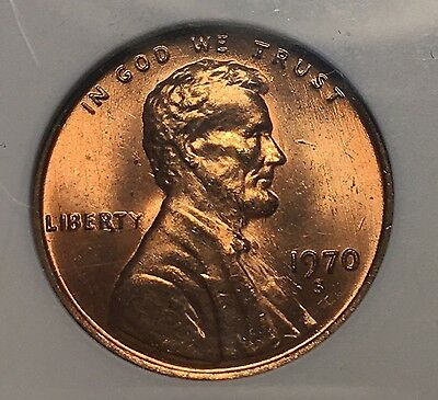 1970-S 1C Lincoln Cent Large Date Mint State