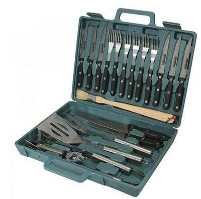 Kitchenware Outdoor Camping Utensil Set Picnic Cutlery Box Kookaburra 20 Pieces