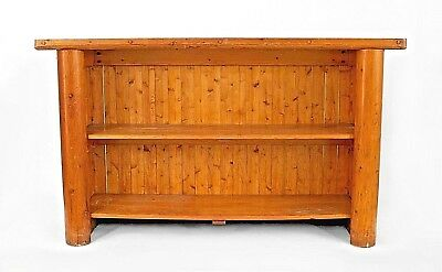 Set of American Old Hickory Style (1950s) Pine Bar Furniture