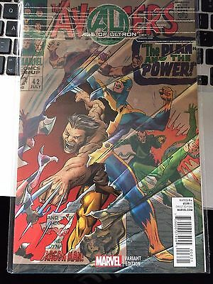 Age of Ultron #6 (RARE Wolverine Variant) Marvel Comics