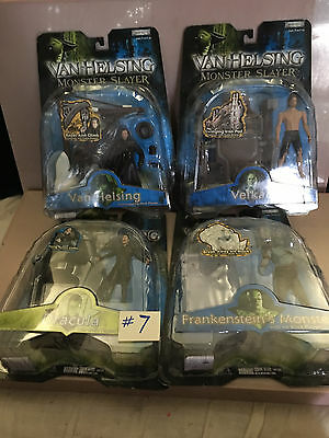 Van Helsing Monster Slayer Lot Of 4 New In Box Collectible