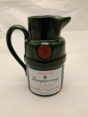Vintage Veramic Tanqueray Special Dry Distilled English Gin Decanter