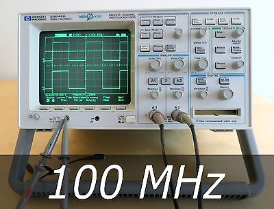 HP / Agilent 54645D 2+16 channel Mixed Signal Scope + A / D Probes. Very clean