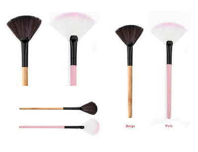 Professional Soft Fan Brush Make up Brush Face Powder Cheek Blush Highlighter