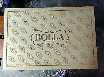 Vintage Bolla Gift Selection Wine Box Wooden Wood Large