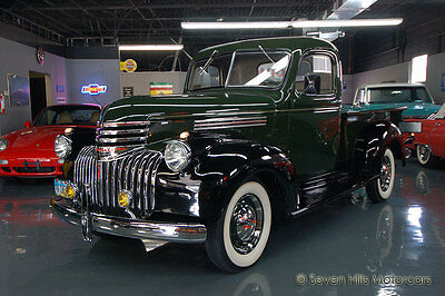 1946 Chevrolet Other Pickups 3100 (3104) Restored, BEAUTIFUL CONDITION, Green & Black, LOOKS STUNNING & Runs Great