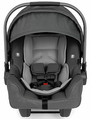 2016 Nuna Baby Pipa Ultra Lightweight Infant Car Seat w/ Load Leg Base Graphite