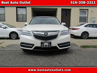 2015 Acura MDX SH-AWD 6-Spd AT w/Tech Package 2015 Acura MDX SH-AWD 6-Spd AT w/Tech Package
